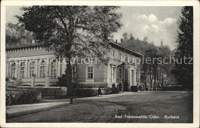 Bad Freienwalde Kurhaus Kat. Bad Freienwalde