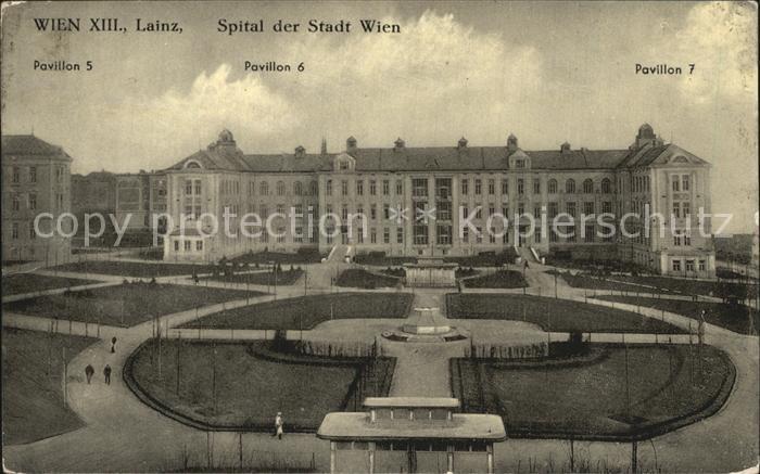 Lainz Spital Der Stadt Wien Nr Ks85909 Oldthing Wien