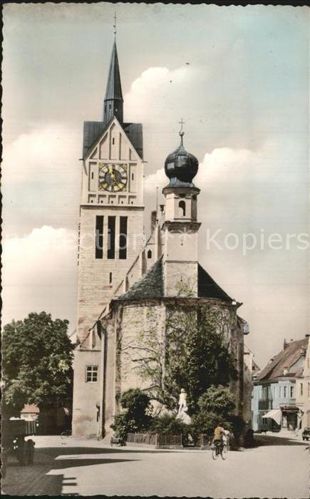 Neustadt Donau Kirche Kat. Neustadt a.d.Donau