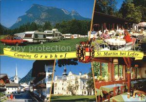 St Martin Lofer Campingstueberl Strassenpartie Teilansichten / St Martin bei Lofer /Pinzgau-Pongau