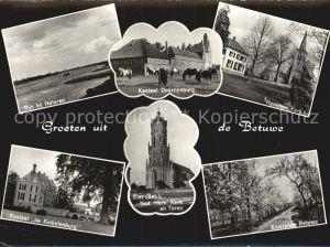 Elst Gelderland Burg Doornenburg Kirche Hemmen Schloss Kinkelenburg  Kat. Overbetuwe