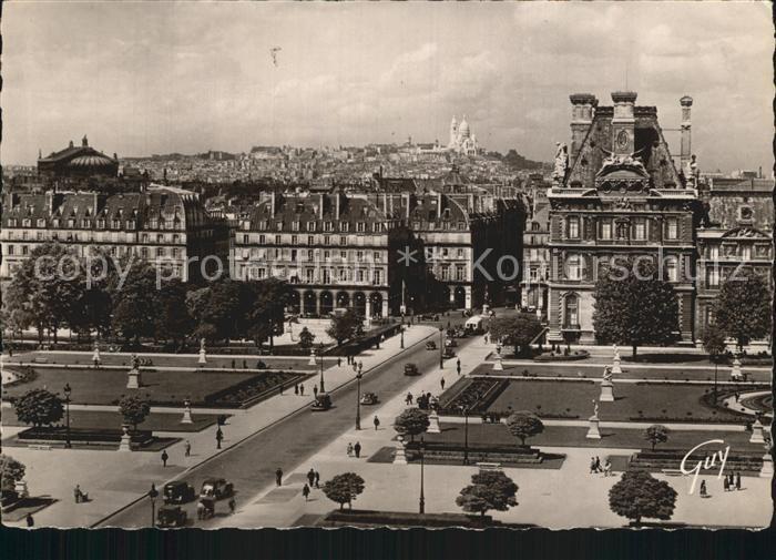 Paris Ses Merveilles Montmartre Louvre Kat. Paris