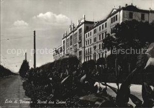 kt31638 Lido di Venezia Hotel des Bains Kat. Venezia Venedig