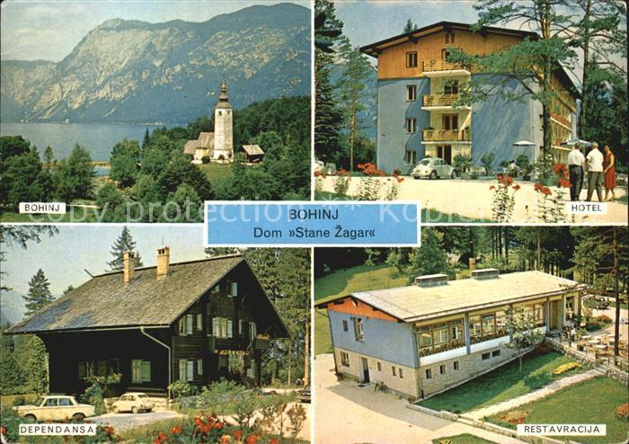 Bohinj Hotel Restaurant Dom Stane Zagar Kat Slowenien Nr