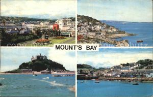 St Ives Cornwall Mounts Bay St Anthony Gardens St Michaels Mount Mousehole The Harbour Newlyn Kat. St Ives