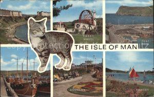 Isle of Man Port St Mary Laxey Wheel Port Erin Peel Douglas Ramsey Kat. United Kingdom