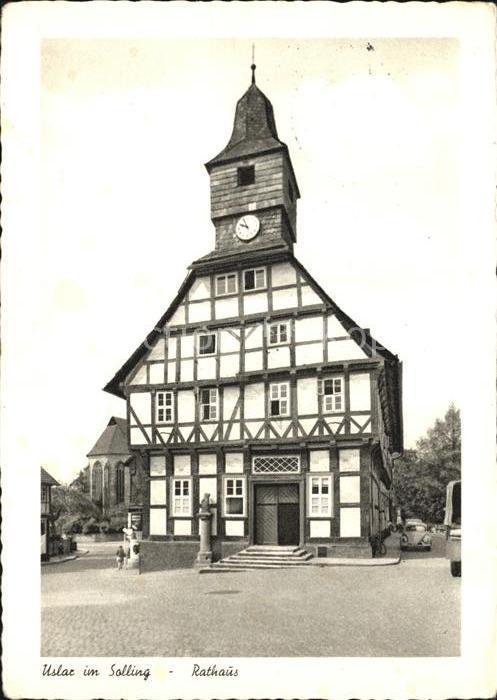 Uslar Solling Rathaus Kat. Uslar