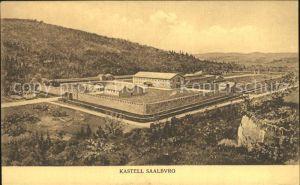 Saalburg Saale Kastell Saalburg Kat. Saalburg Ebersdorf