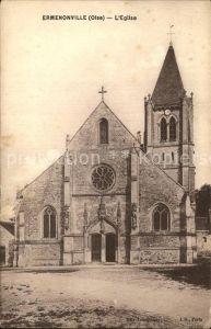 Ermenonville Kirche Kat. Ermenonville