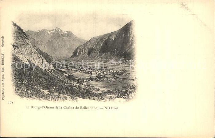 Le Bourg d Oisans Chaine de Belledonne Kat. Le Bourg d Oisans