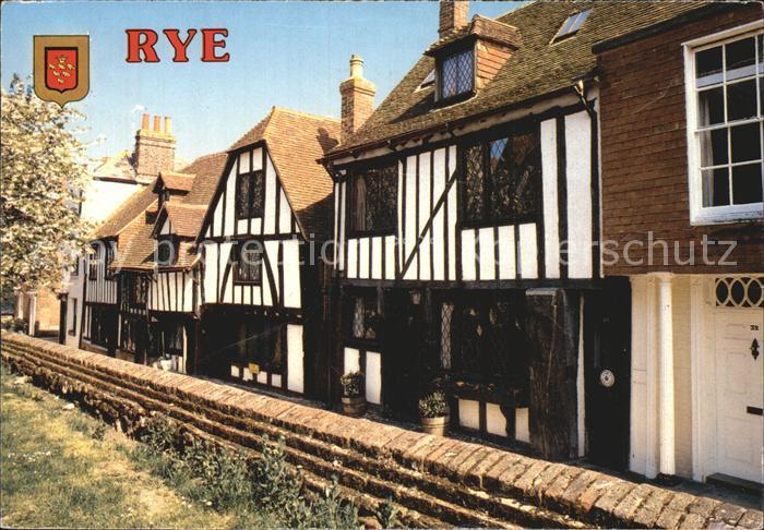 Rye East Sussex Fachwerkhaeuser Kat. East Sussex