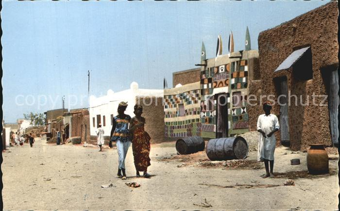 Niger Zinder Rue de Zengou Kat. Niger