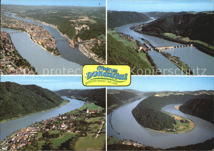 Passau Donautal zwischen Passau und Linz Kraftwerk Kat. Passau