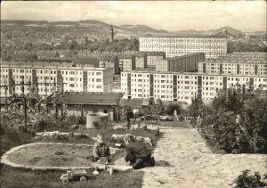 Arnstadt Ilm Blick vom Dornheimer Berg Kat. Arnstadt