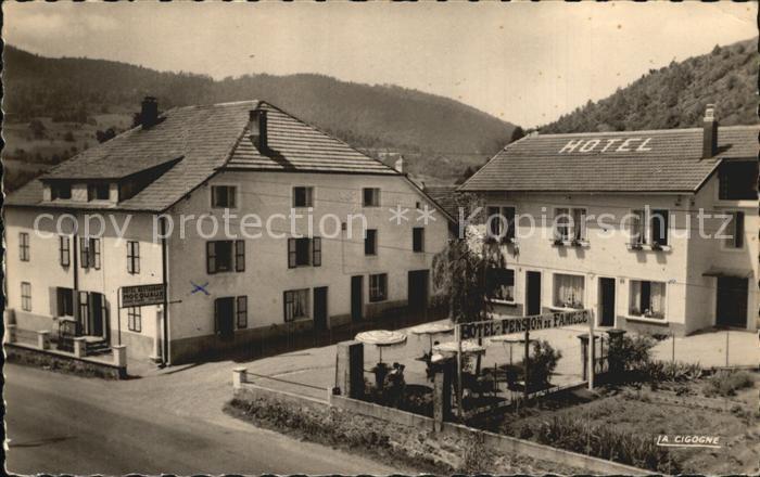 Saint Maurice sur Moselle Hotel Pension de Famille Kat. Saint Maurice sur Moselle
