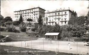 Saint Cergue VD Hotel Observatorium