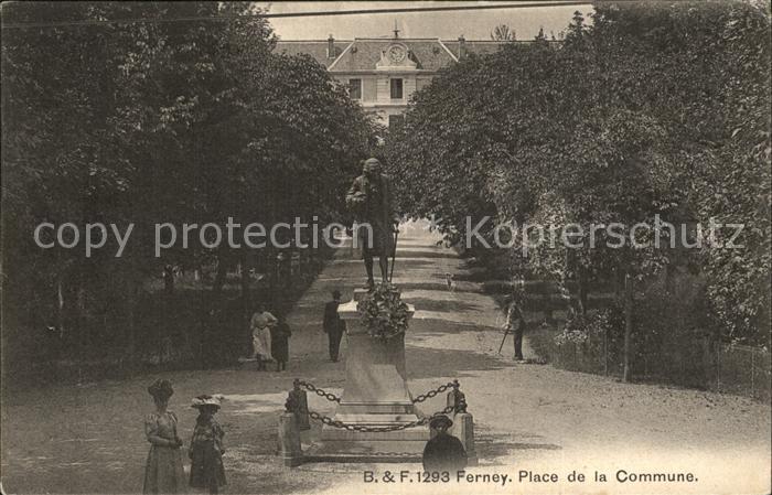 Ferney Voltaire Place de la Commune Kat. Ferney Voltaire