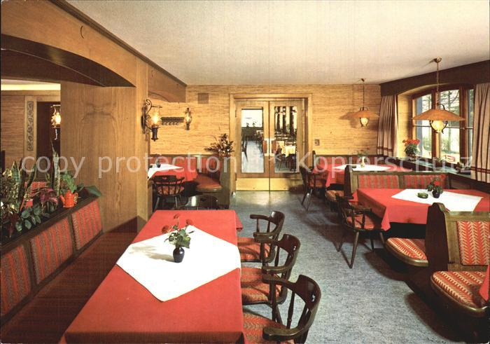 Meilingen Hotel Restaurant Berghof Kat. Pfronten