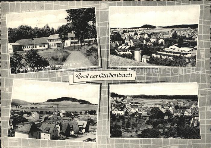 Gladenbach Haus Blankenstein  Kat. Gladenbach