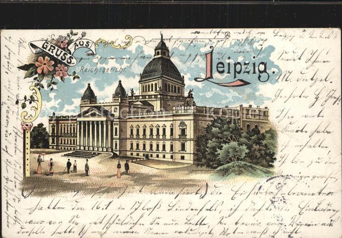 Leipzig Reichsgericht Kat. Leipzig