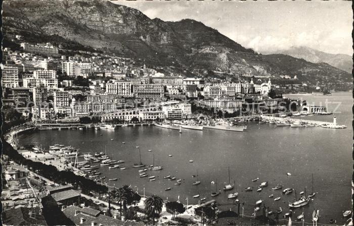 Monte Carlo Le Port de la Principaute Montagnes Kat. Monte Carlo