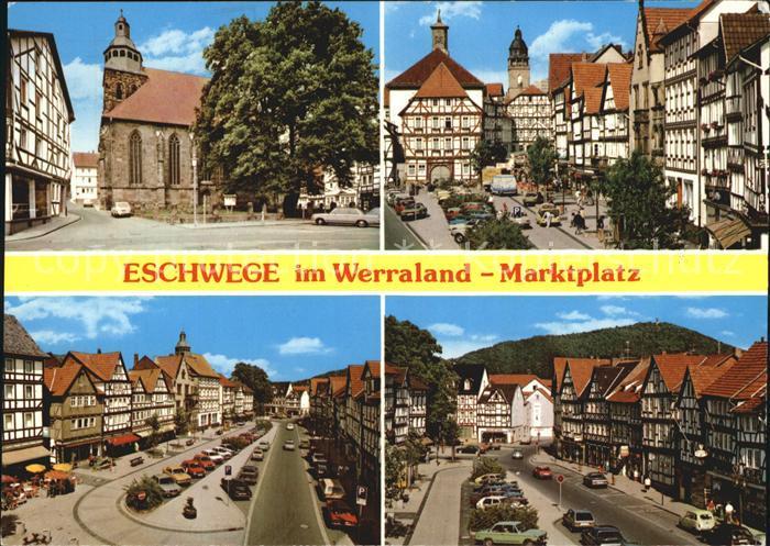 Eschwege Marktplatz  Kat. Eschwege