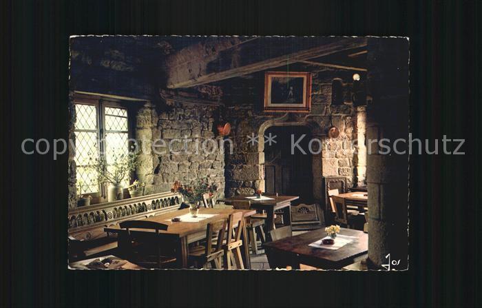 Locronan Interieur d une maison du bourg Auberge Saint Ronan ...