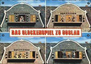 Goslar Glockenspiel am Marktplatz Kat. Goslar