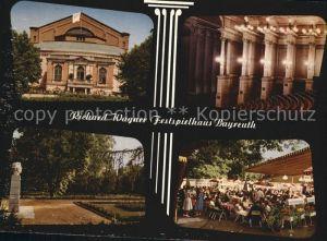 Bayreuth Richard Wagner Festspielhaus Denkmal Bueste Kat. Bayreuth