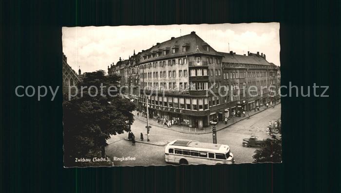 Zwickau Sachsen Ringkaffee Kat. Zwickau