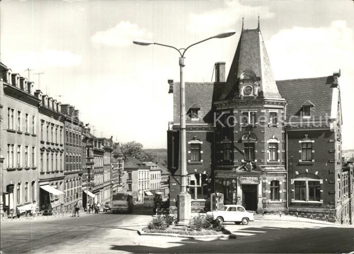Treuen Postplatz Kat. Treuen Vogtland