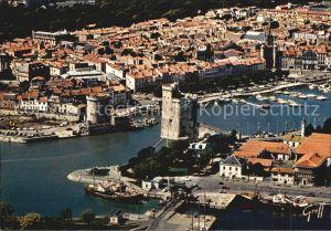 La Rochelle Charente Maritime Vue generale aerienne du Port avec la Tour Kat. La Rochelle