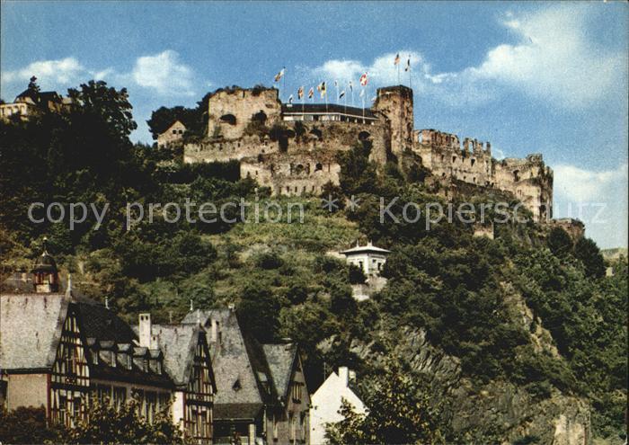 St Goar Burg Rheinfels Kat. Sankt Goar