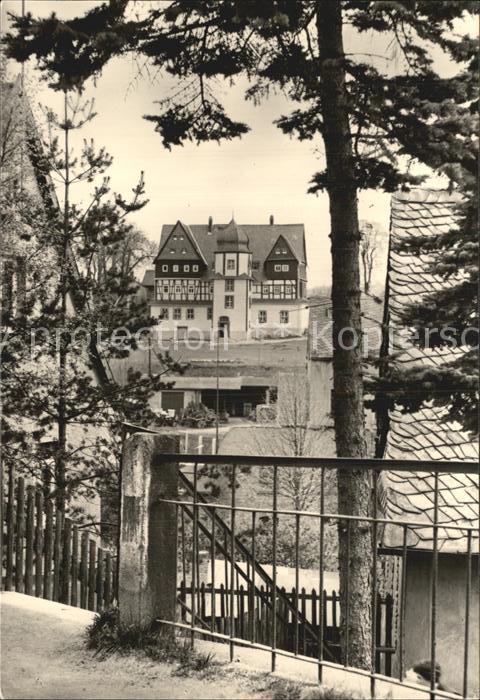 Treuen Schlossblick Kat. Treuen Vogtland