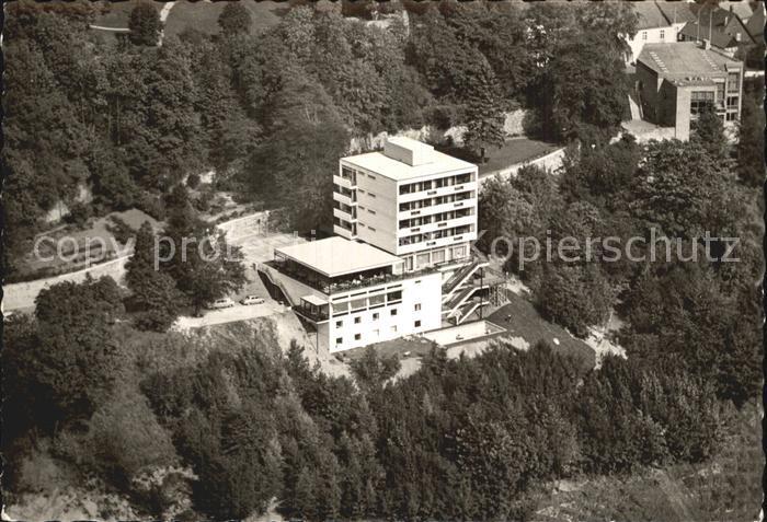 Tecklenburg Fliegeraufnahme Park Hotel Burggraf Kat. Tecklenburg