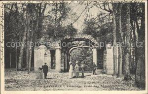 kt34261 Bayreuth Eremitage Roemisches Theater Kat. Bayreuth