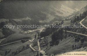 Airolo Fort Gotthardstrasse Kat. Airolo