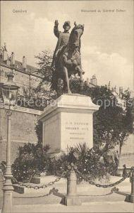 Geneve GE Monument du General Dufour Kat. Geneve