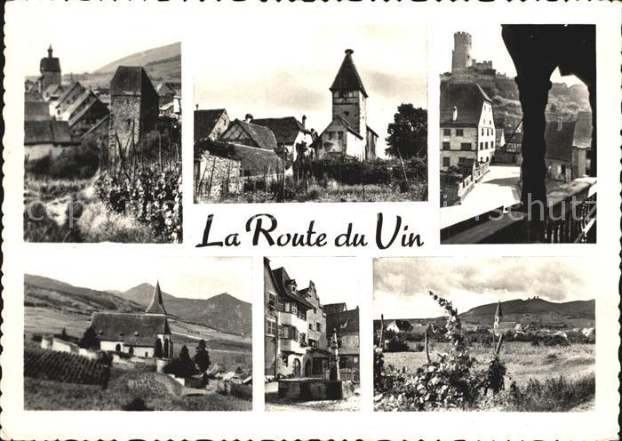 Riquewihr Haut Rhin Ammerschwihr Kaysersberg Hunawihr Eguisheim Wettolsheim Kat. Riquewihr
