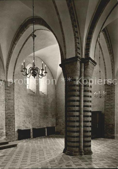 Ratzeburg Vierpasspfeiler in der Vorhalle Kat. Ratzeburg