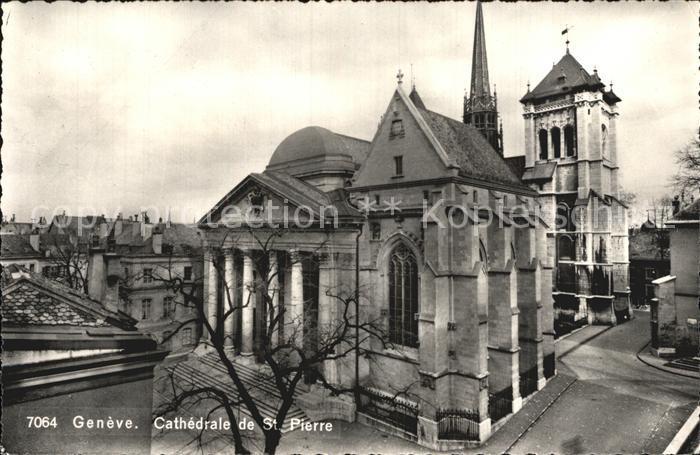 Geneve GE Cathedrale de St. Pierre Kat. Geneve