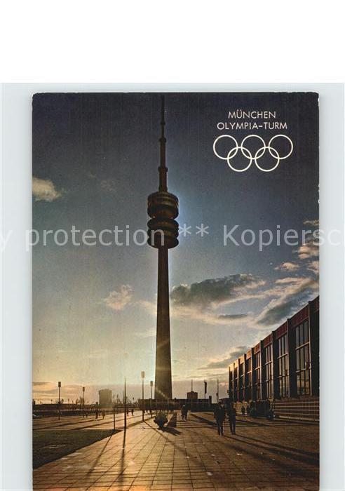 Muenchen Olympia Turm Kat. Muenchen