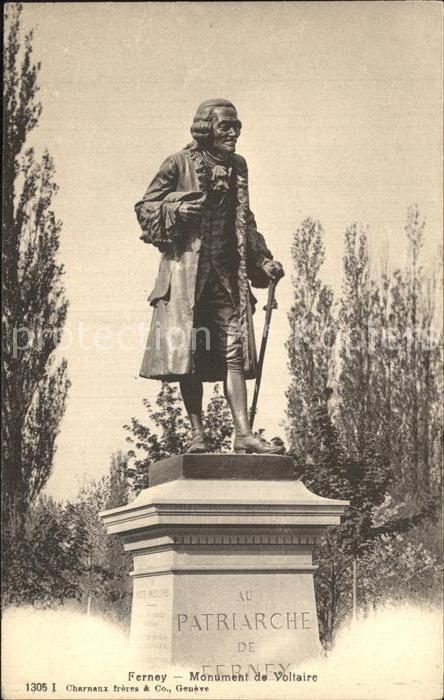 Ferney Voltaire Monument de Voltaire Kat. Ferney Voltaire