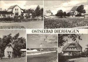 Dierhagen Ostseebad Kinderferienheim Junge Garde Teilansichten Strand Kat. Dierhagen Ostseebad