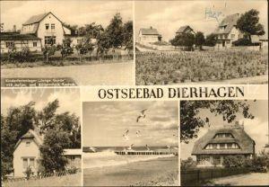 Dierhagen Ostseebad Kinderferienlager Junge Garde Ferienhaus Strandpartie Reethaus Kat. Dierhagen Ostseebad