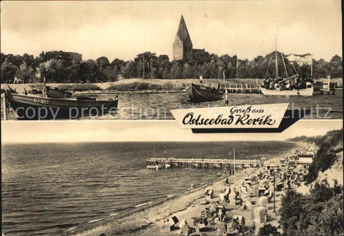 Rerik Ostseebad Kirche Strand Seebruecke Kat. Ostseebad Rerik