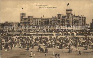 Scheveningen Strand en Palace Hotel Kat. Scheveningen