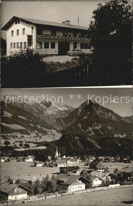 Aschen Kempten Gesamtansicht mit Alpenpanorama