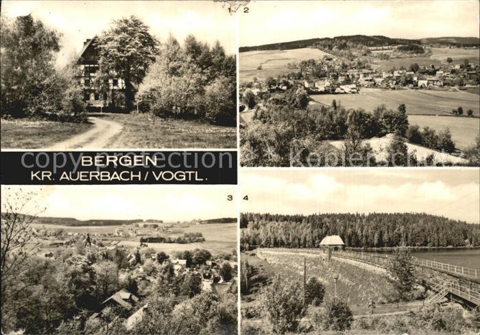 Bergen Auerbach Jugendherberge Teilansicht Talsperre Kat. Bergen Auerbach