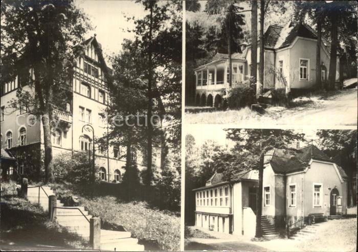 Hohwald Sachsen Kreis Sebnitz Kat. Neustadt Sachsen